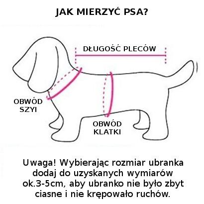 Kurtka dla psa FASHION