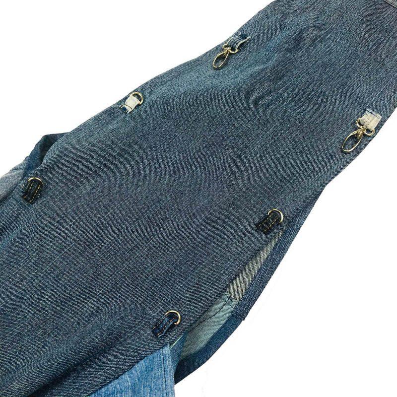 torba dla psa jeansowa